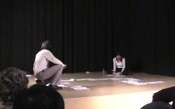 BORD DE L'EAU BORDERLINE, conférence performance, 2010